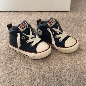 Converse All Star infant size 4c high top sneakers
